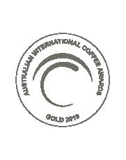 Australian Coffee AwardsMedalla Oro 2019